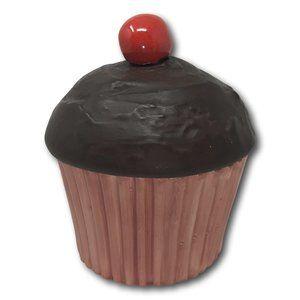 Vintage Ceramic Cupcake Box Fun Office Decor